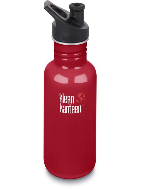 Klean Kanteen Classic Bottle Sport Cap 3.0 532ml Mineral Red